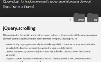 jquery.scrolling