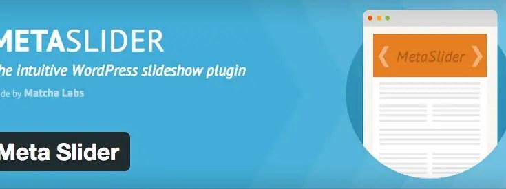 WordPress: aggiungere una slideshow nella Home Page con Meta Slider