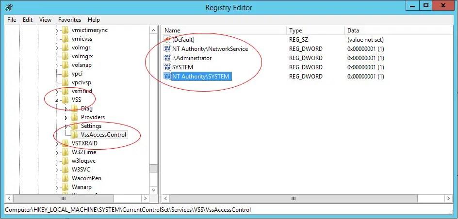 volume-shadow-copy-services-vss-access-control