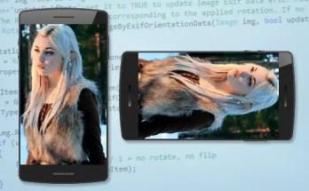 Correggere l'orientamento delle foto scattate con iPhone e/o Android con .NET C#