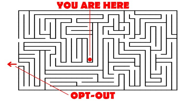 opt-out-maze