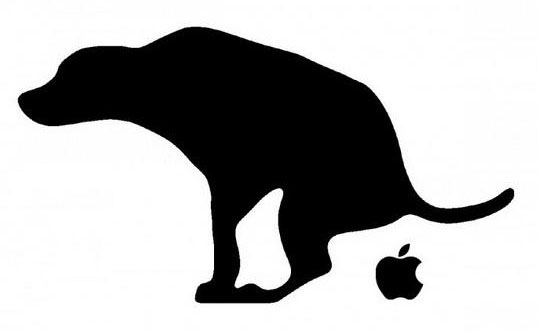 apple-sucks-trash-dog-shit