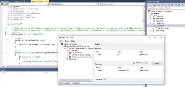 How to create a SOAP Web Service using ASP.NET WCF, Visual Studio and IIS 8+
