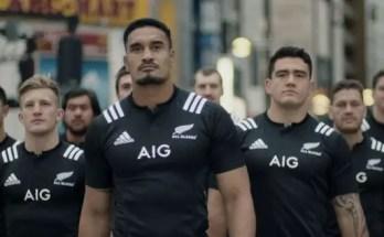 """Il """"Rugby preventivo"""" dei New Zealand All Blacks nel nuovo spot di AIG Japan - #TackleTheRisk!"""