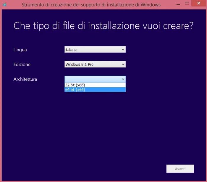 Link ufficiali Microsoft per il download delle immagini ISO Windows 7, Windows 8.1 e Windows 10 in italiano (product key non incluso)