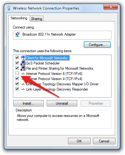 Windows 7 - Random disconnections of Internet / Web / Network Card? How to fix