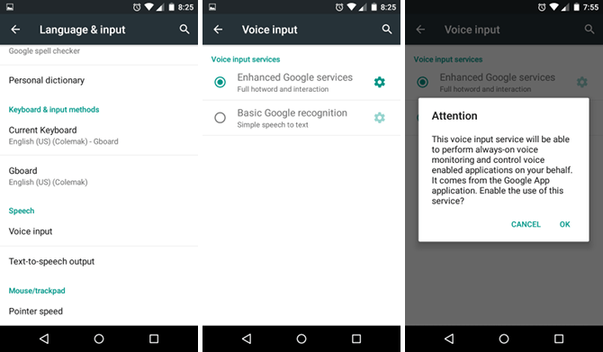 Android - Enable Speech-to-Text (Voice Input) Keyboard Feature