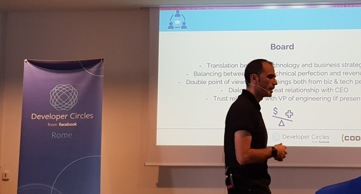 From Developer to CTO - Tech Leadership Training Bootcamp by Codemotion - Day 1