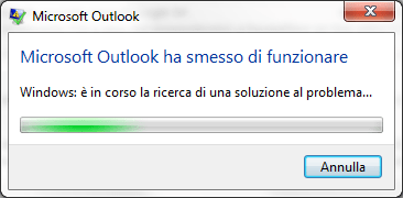 Outlook crash all'avvio (OUTLMIME.DLL): come risolvere