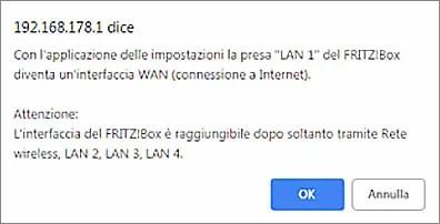 Tiscali FTTH GPON e FritzBox 7530 o 7590 - Configurazione