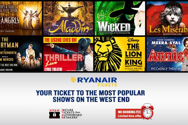 Ryanair Tickets