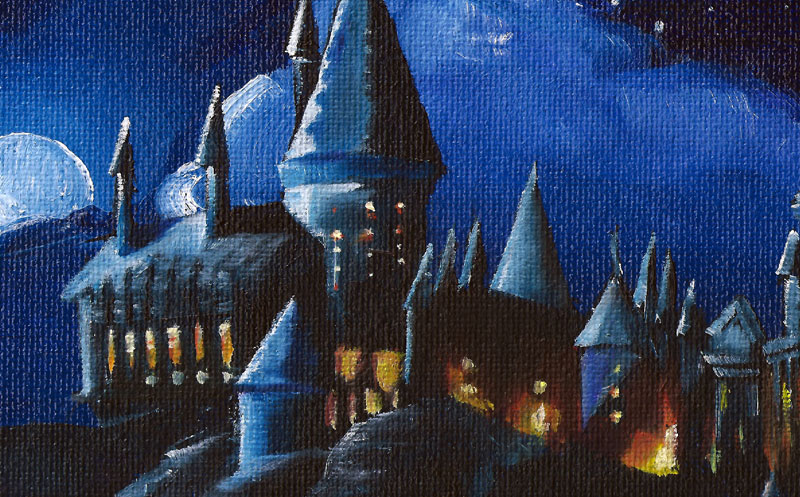 hogwarts-castle-painting