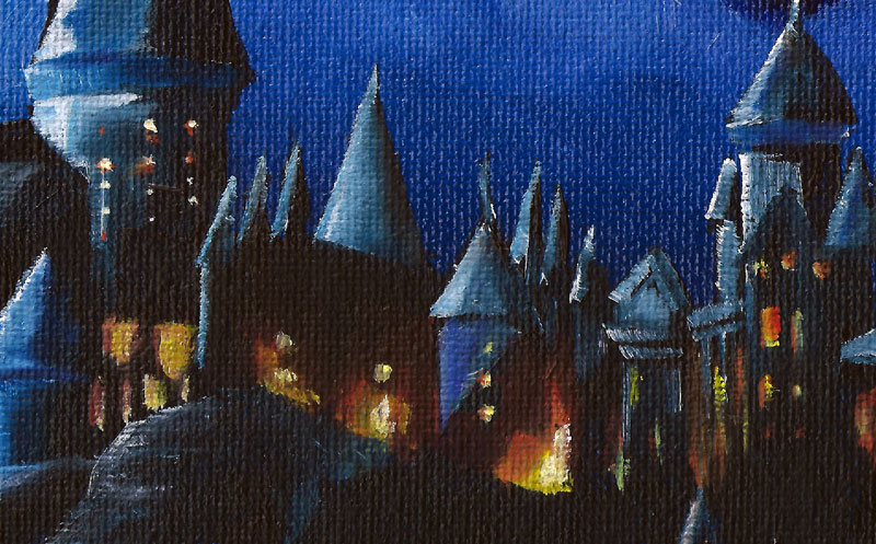 Hogwarts Castle- by Ryan Burdzinski
