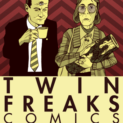 Twin Freaks Zine Cover