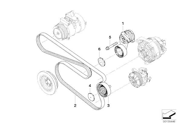 Bmw 325i Fan Belt Diagram