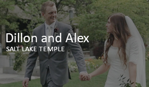 Dillon and Alex // Salt Lake Temple