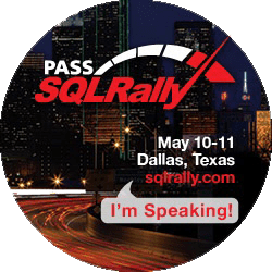 I'm speaking at SQLRally 2012
