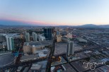 View from Stratosphere at sunset