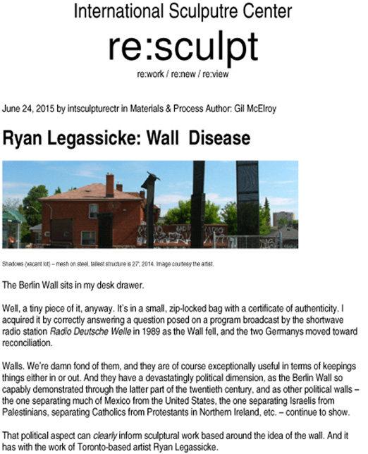 Microsoft Word - Wall Disease by Gil McElroy.doc