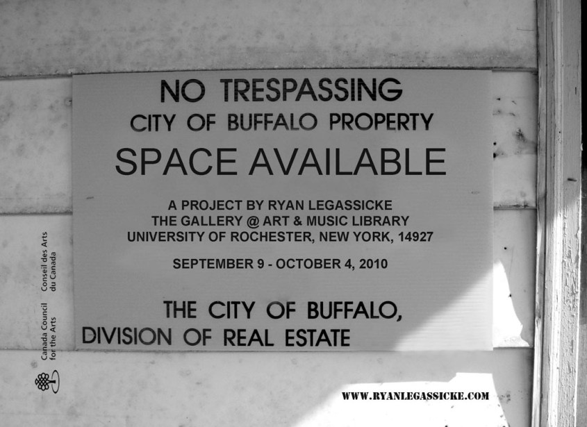 No Trespassing Space Available Rochester2
