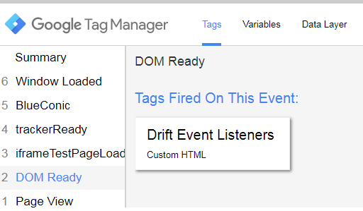 Drift Chat Interaction Google Analytics Tracking Using GTM