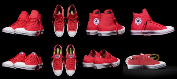 Chucks II Neon Red