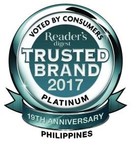 Trusted Band 2017 - Platinum