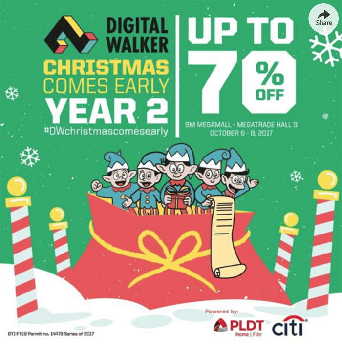 Christmas Comes Early With Digital Walker Year 2