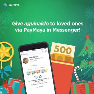 Digital Aguinaldo PayMaya