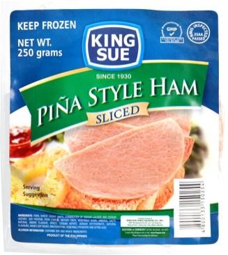piña ham sliced 250g