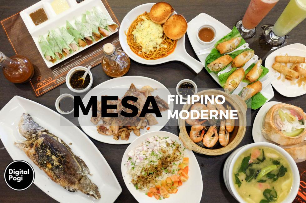 Mesa: Filipino Moderne at O Square Greenhills