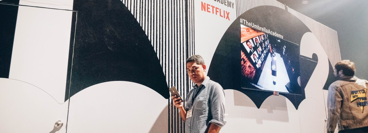 LG Powers up Netflix's The Umbrella Academy Launch Party