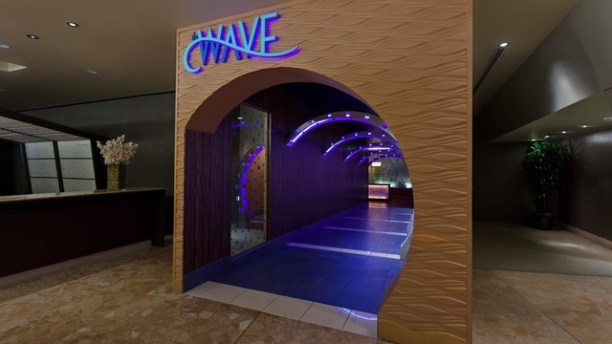 The magical tunnel entrance to The Wave at the Contemporary Resort. One of the first stops on the Monorail Bar Crawl. (photo credit: https://disneyworld.disney.go.com/dining/contemporary-resort/wave-restaurant-of-american-flavors/)
