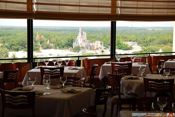 The view of the Magic Kingdom from California Grill is second to none. (photo credit: contemporaryresort.net)
