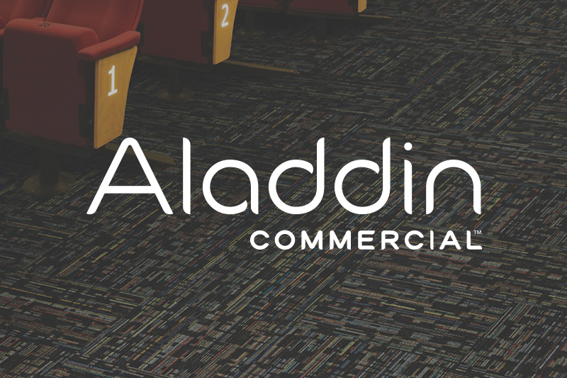 Ryan's Flooring is proud to carry Aladdin commercial flooring products.