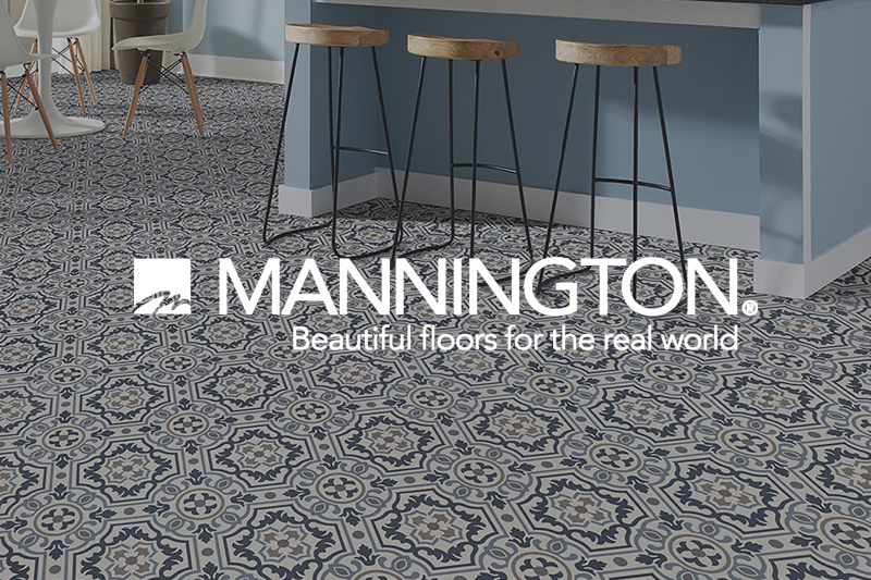 Ryan's Flooring is proud to carry Mannington sheet vinyl products.