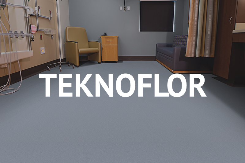 Ryan's Flooring is proud to carry Teknoflor Commercial flooring products.