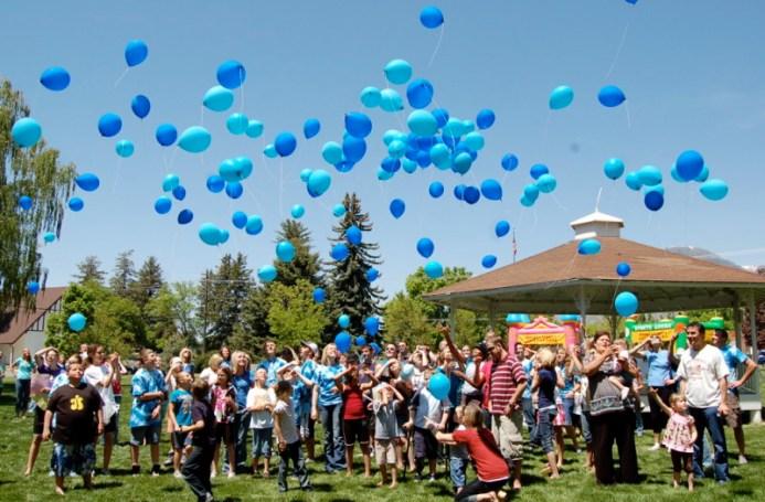 Ryan's Lion Balloon Release Fundraiser