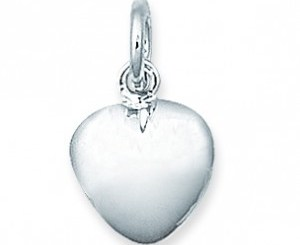 heart charm stillborn baby