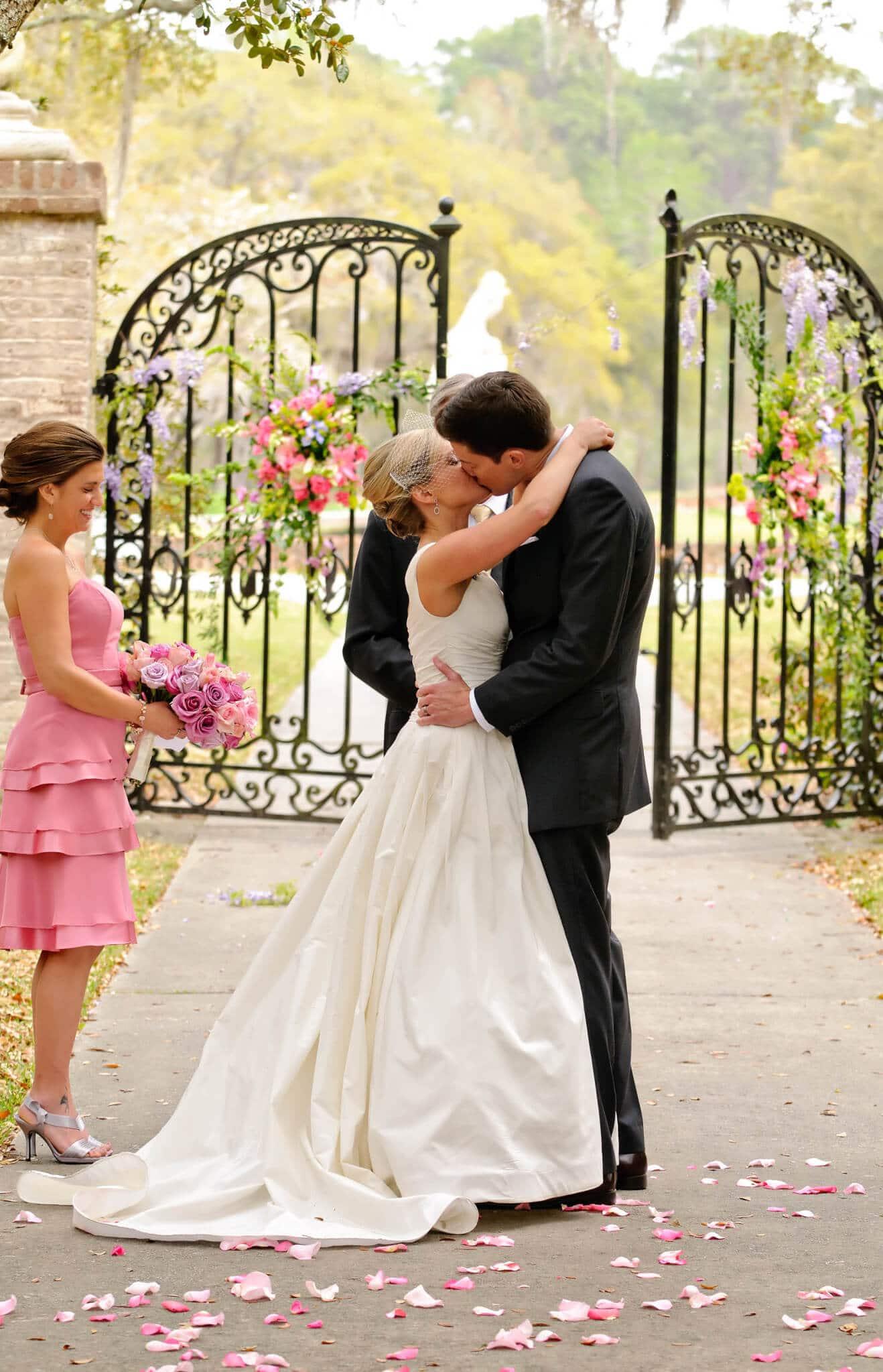 Another Beautiful Wedding At Brookgreen Gardens