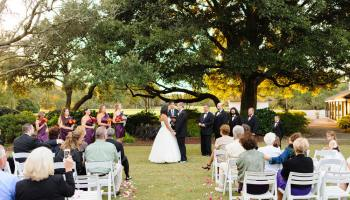 Sunset ceremony - Litchfield Country Club