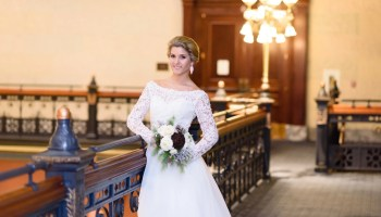 Bridal Portraits South Carolina State House