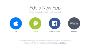 Add a New App Screenshot for Facebook