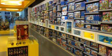 Otevřel se nový LEGO obchod, který je největší na světě
