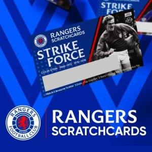 Rangers Scratchcards