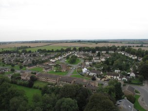 Ryhall from Above Copyright Owen Rushby 03