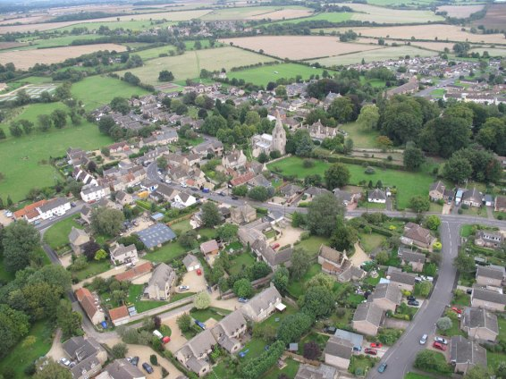 Ryhall from Above Copyright Owen Rushby 13