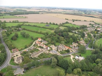 Ryhall from Above Copyright Owen Rushby 14