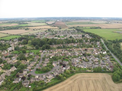 Ryhall from Above Copyright Owen Rushby 15