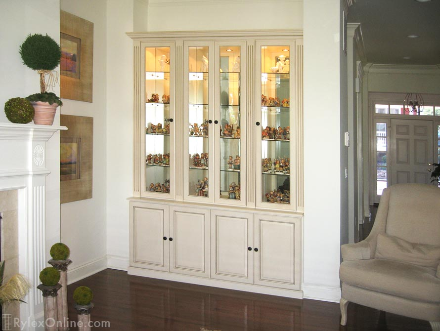 Custom Built In Display Collectibles Cabinets Hudson